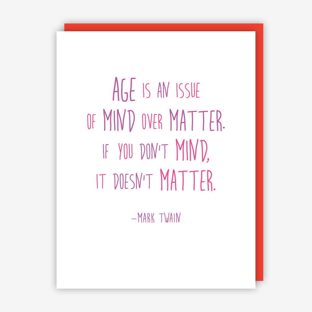 Jake & Sam: Happy Birthday Quote Card