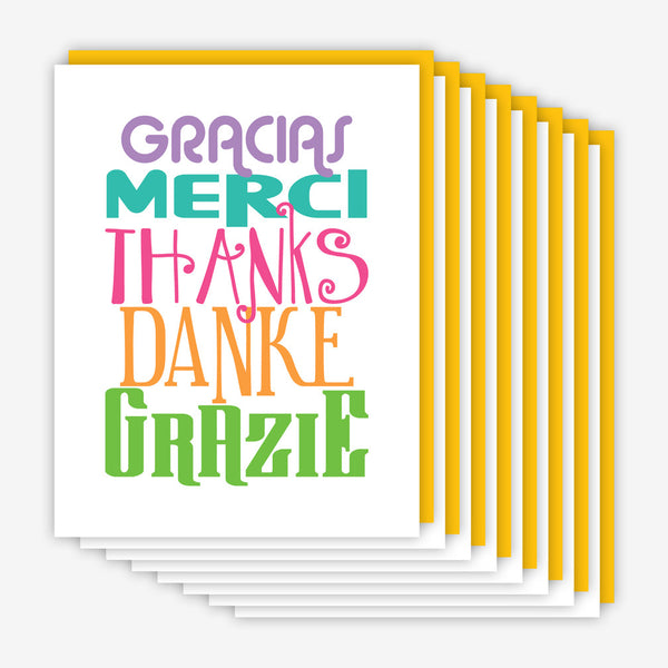 Jake & Sam: Thank You Card Multi Pack