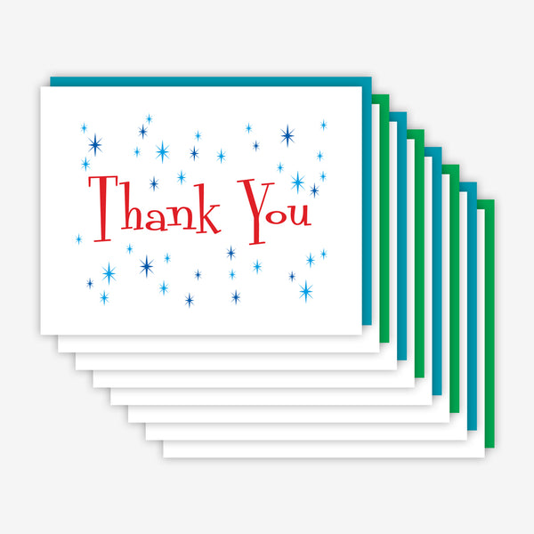 Jake & Sam: Thank You Card Variety Eight Pack