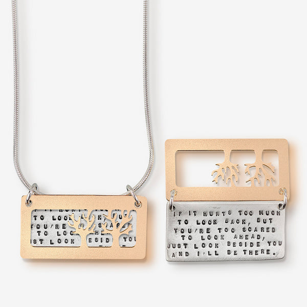 Kathy Bransfield Jewelry: Quote Necklace: I'll Be There