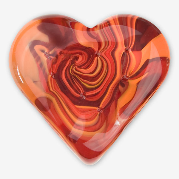 Kingston Glass Studio: Sweet Hearts: Red