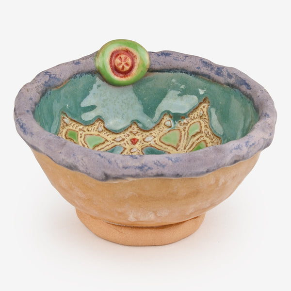 Laurie Pollpeter Eskenazi: Little Bowls: Lilac