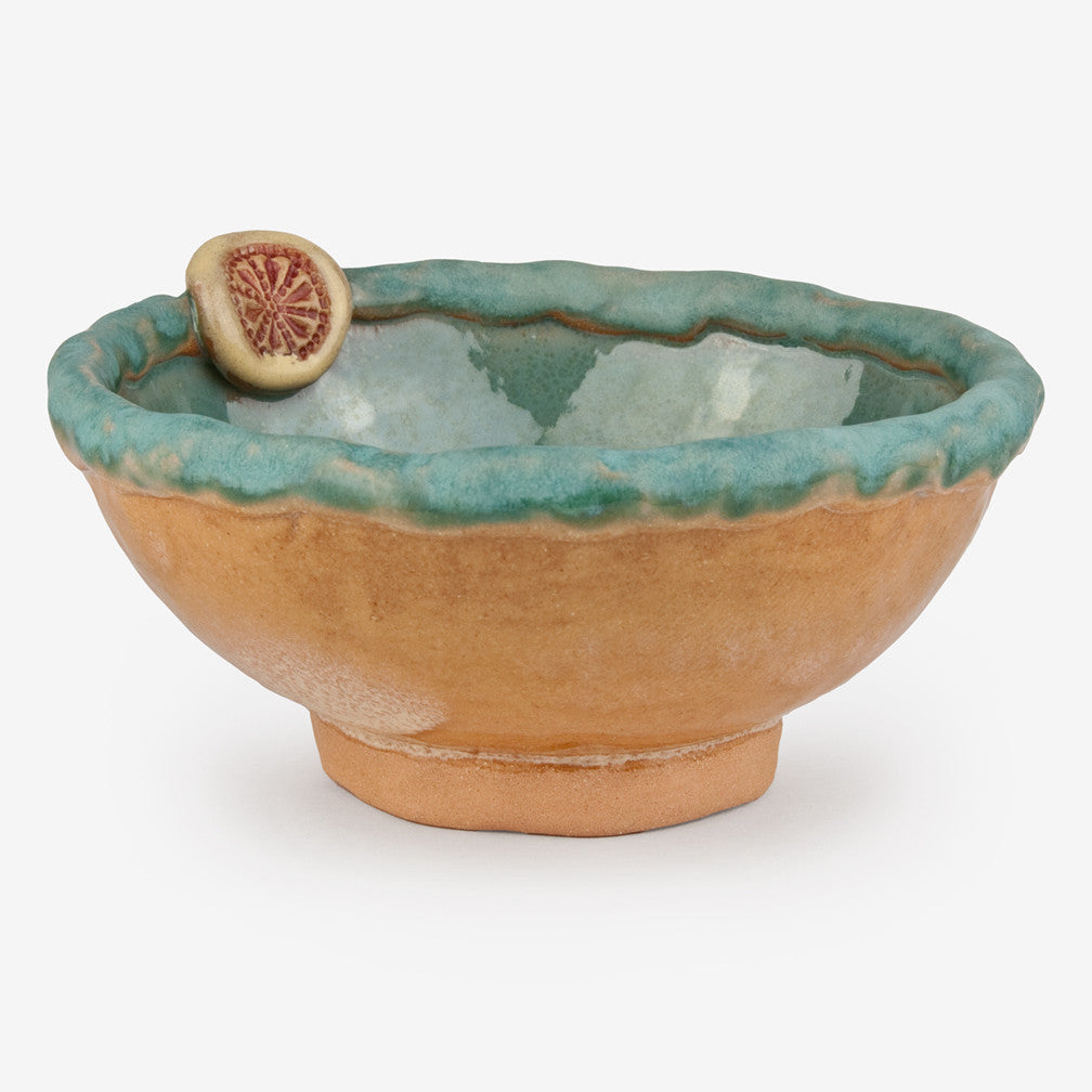 Laurie Pollpeter Eskenazi: Little Bowls: Teal
