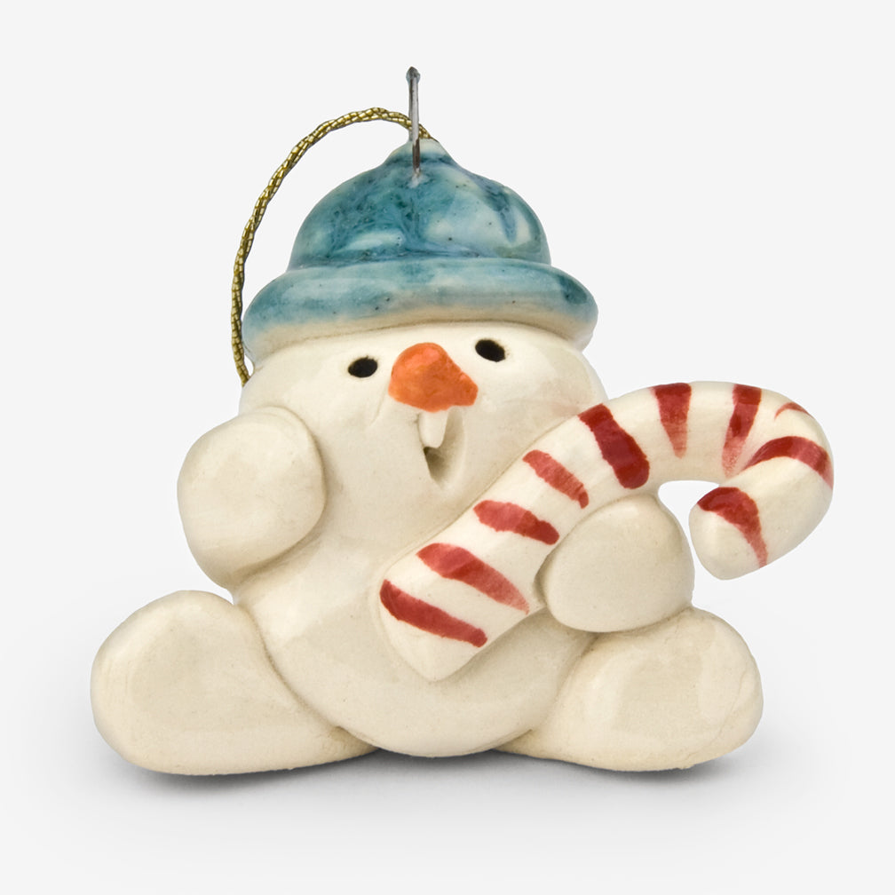Little Guys: Ceramic Ornament: Candy Frosty