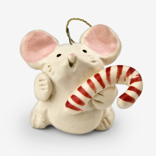 Little Guys: Ceramic Ornament: Candy Mouse