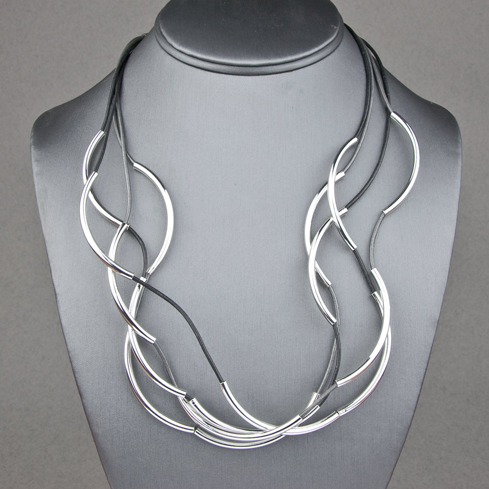 Lizzy James: Lizzy Too Wrap: Silver Metal