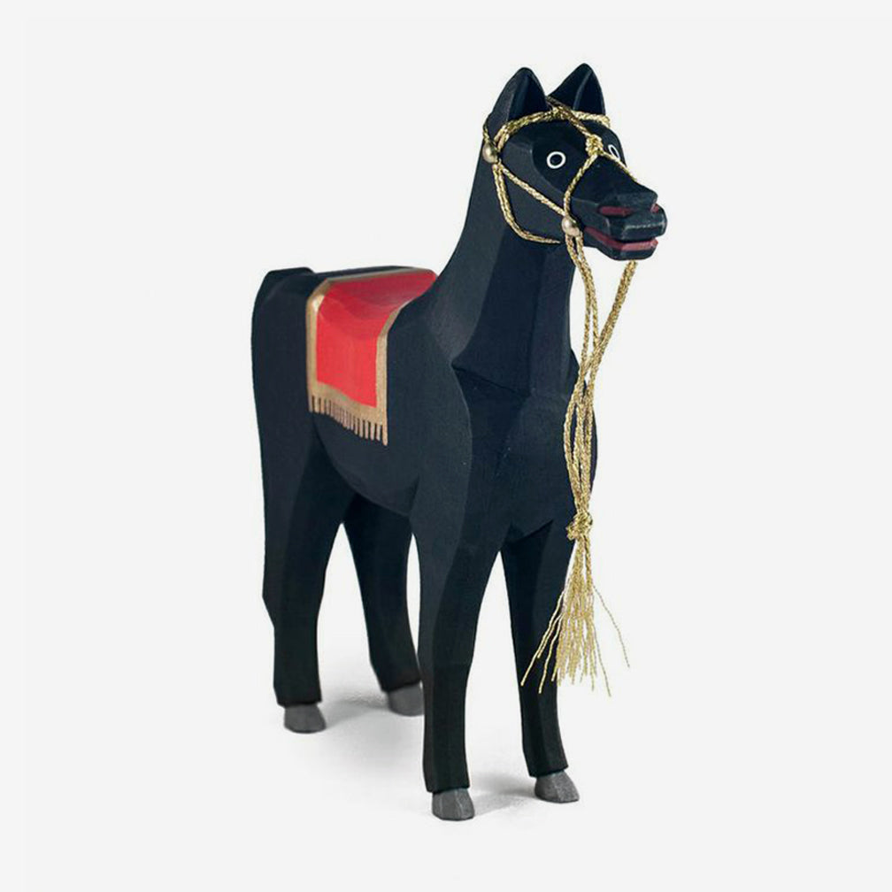 Copy of Lotte Sievers-Hahn Nativity: Black Arabian Horse, with Lead