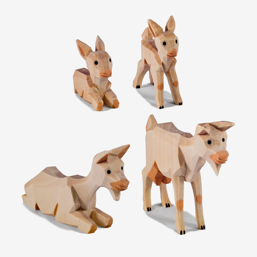 Lotte Sievers-Hahn Nativity: Pale Goats