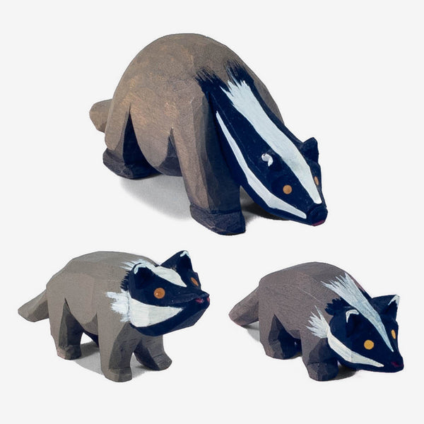 Lotte Sievers-Hahn Nativity: Badgers