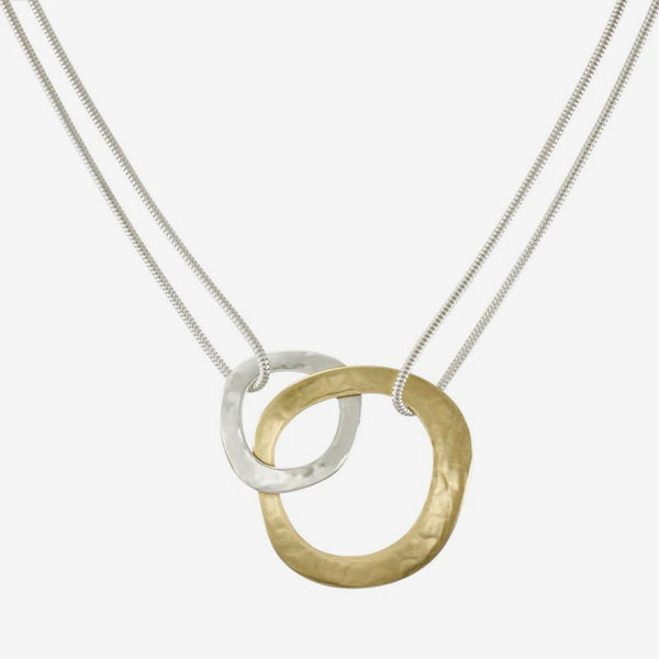 Marjorie Baer Necklace: Interlocking Rings