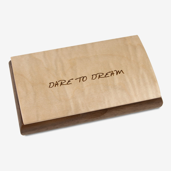 Mikutowski Woodworking: Possibility Quote Box: Dare to Dream
