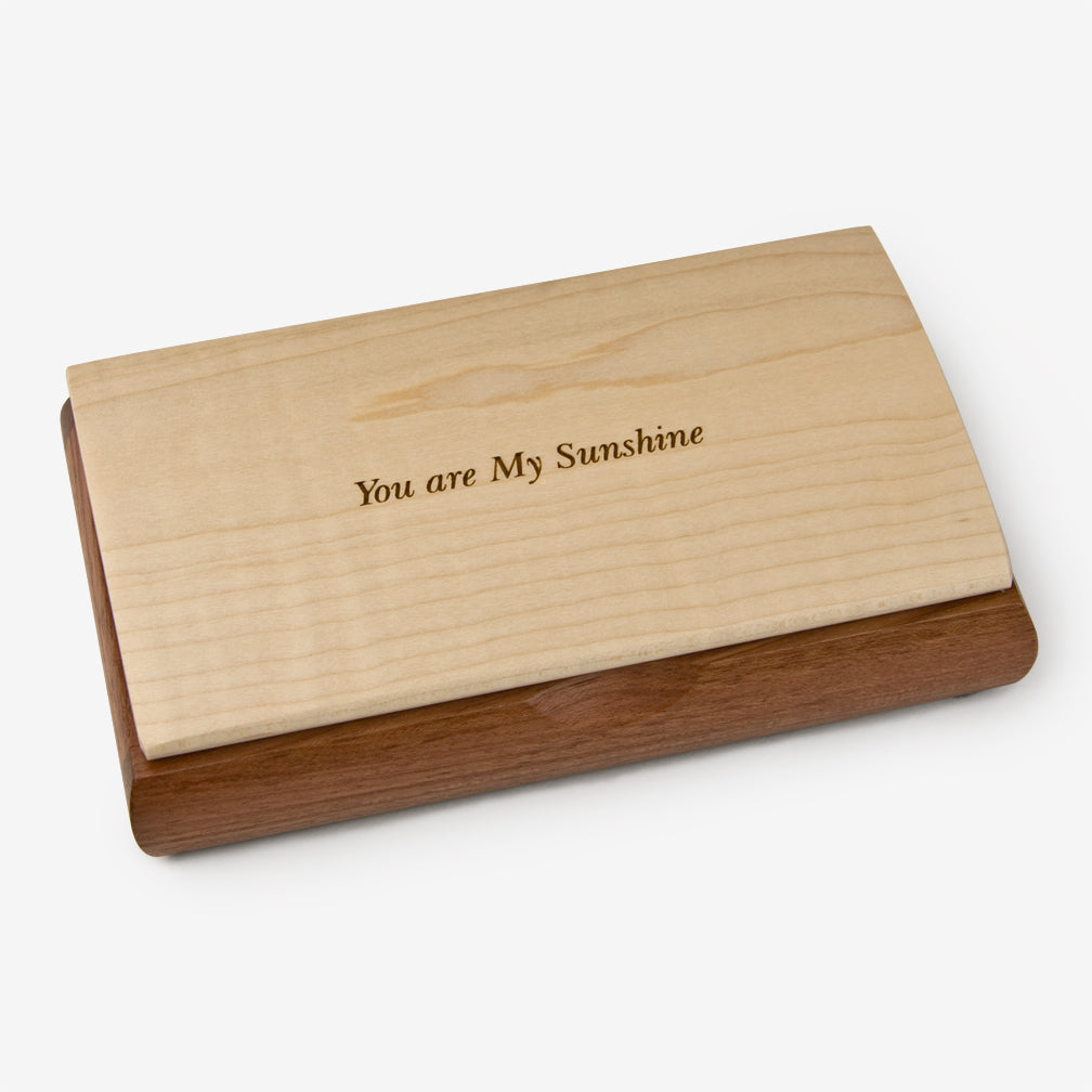 Mikutowski Woodworking: Possibility Quote Box: You are My Sunshine