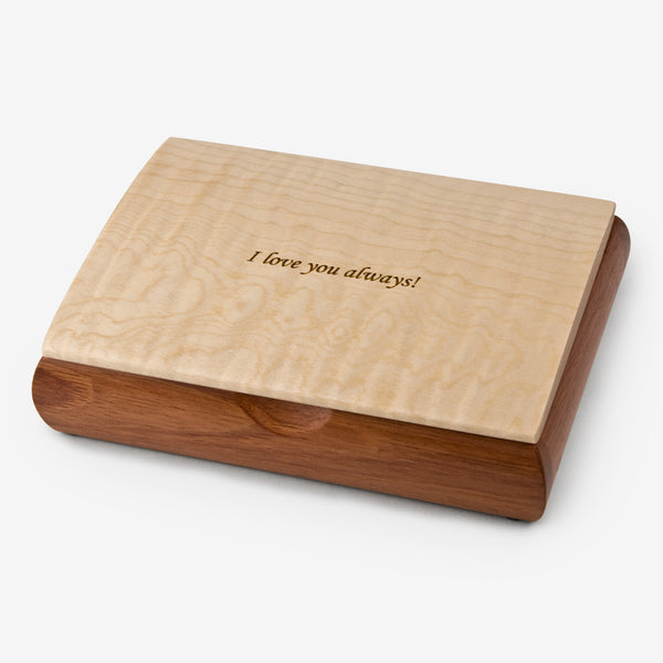 Mikutowski Woodworking: Tranquility Box: I Love You Always!