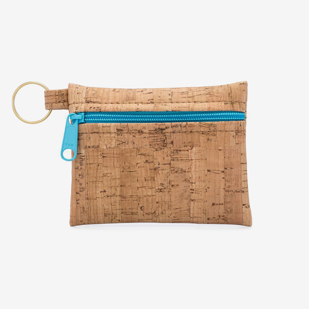 Natalie Therése: Be Organized Key Chain, Aqua