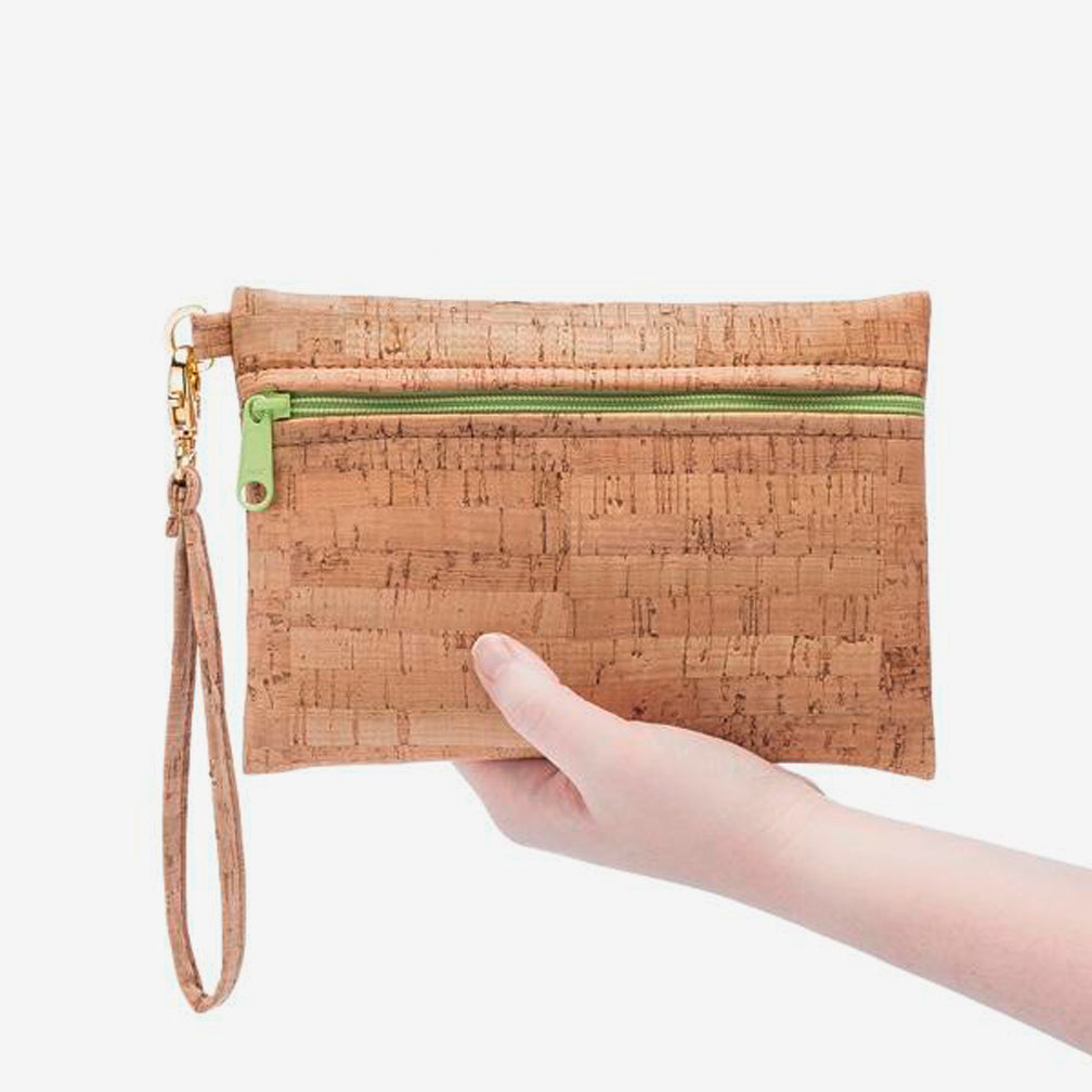 Natalie Therése: Be Ready Mini Wristlet, Butterscotch