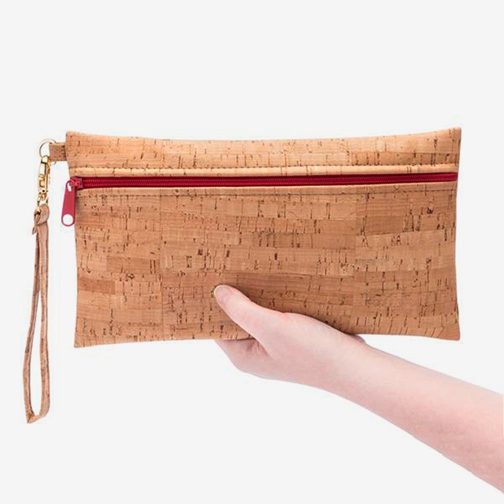 Natalie Therése: Be Ready Wristlet, Butterscotch