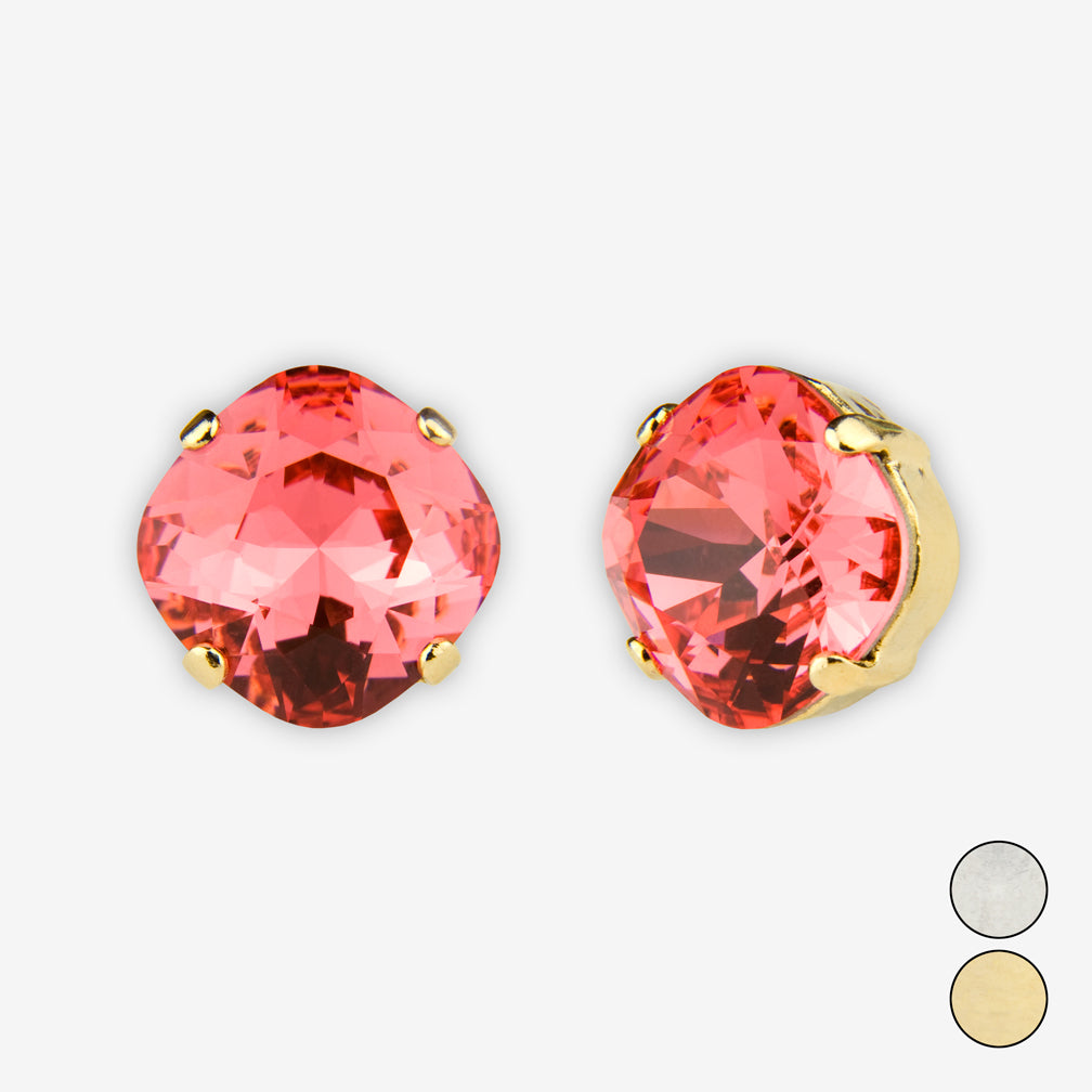 Noon Designs: Earrings: Large Dazzling Stud, Gladiolus
