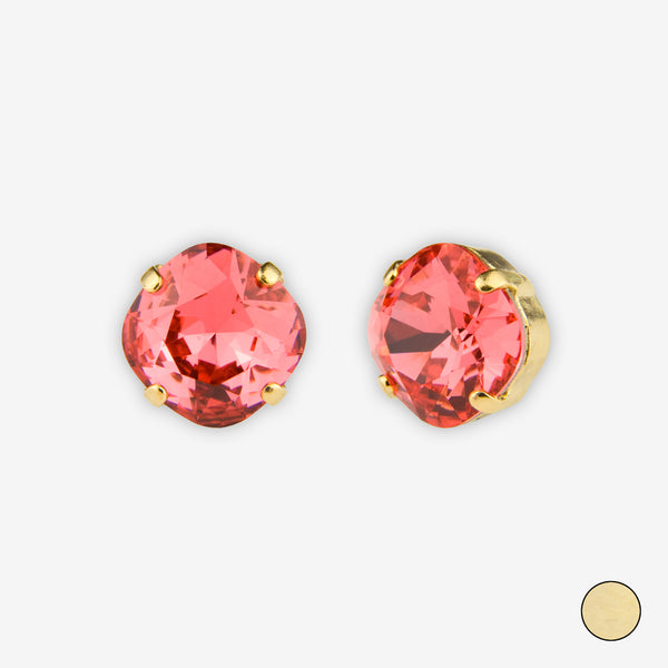 Noon Designs: Earrings: Small Dazzling Stud, Gladiolus