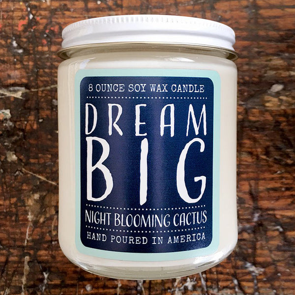 Noon Designs: Soy Candle: Dream Big
