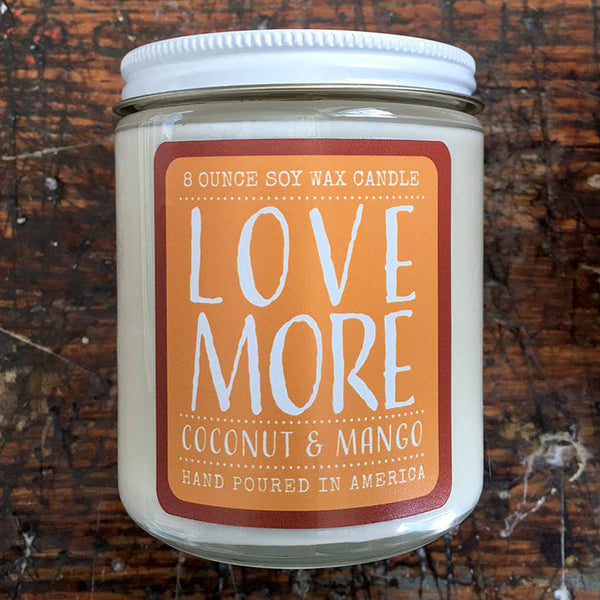 Noon Designs: Soy Candle: Love More