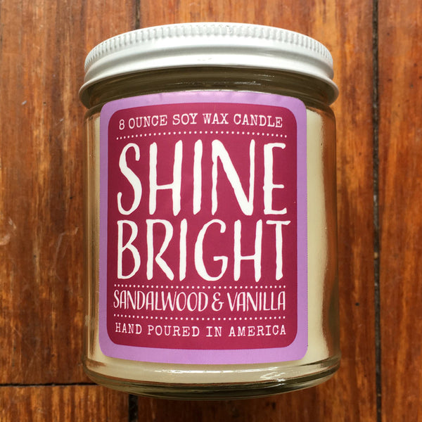 Noon Designs: Soy Candle: Shine Bright