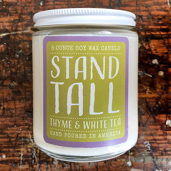 Noon Designs: Soy Candle: Stand Tall