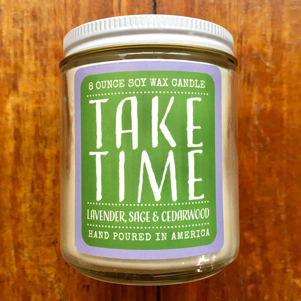 Noon Designs: Soy Candle: Take Time