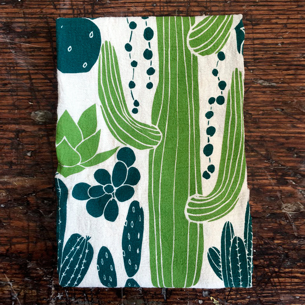 Noon Designs: Tea Towel: Cacti