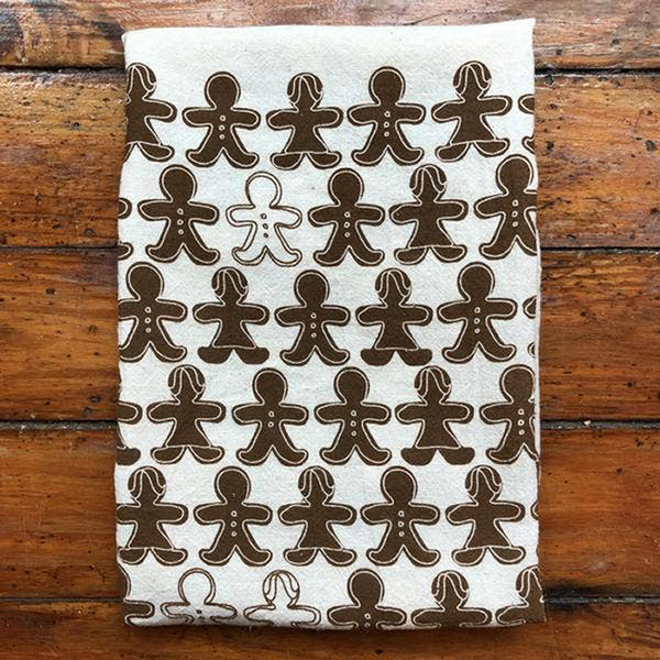 Noon Designs: Tea Towel: Gingerbread