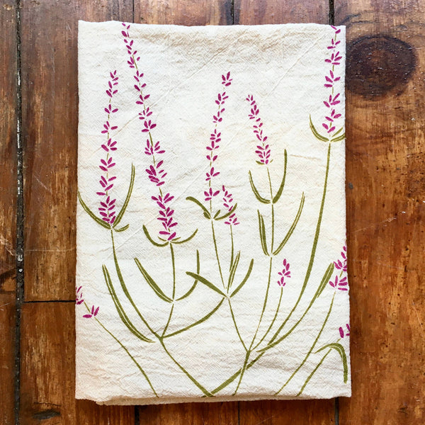 Noon Designs: Tea Towel: Lavender