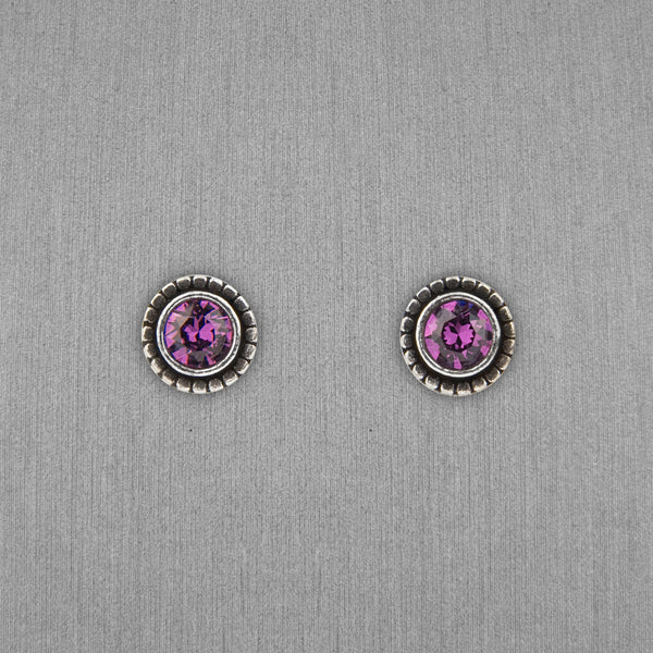 Patricia Locke Jewelry: Indie Earrings in Amethyst