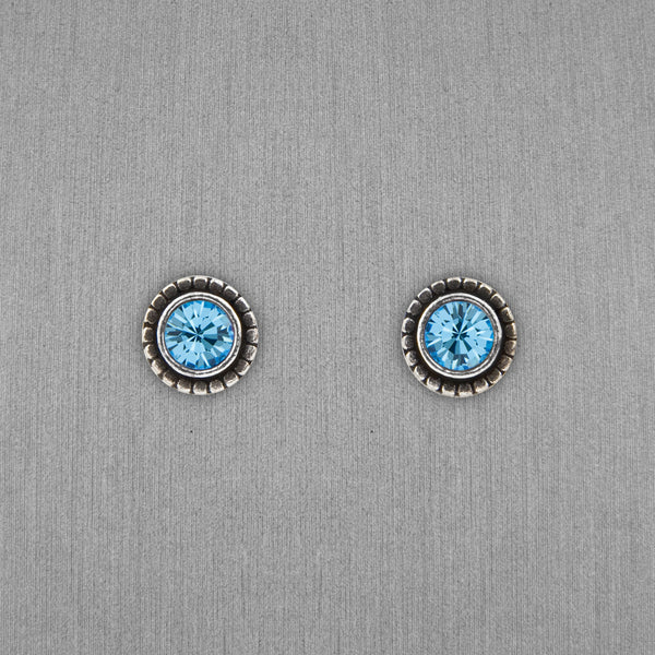 Patricia Locke Jewelry: Indie Earrings in Aquamarine