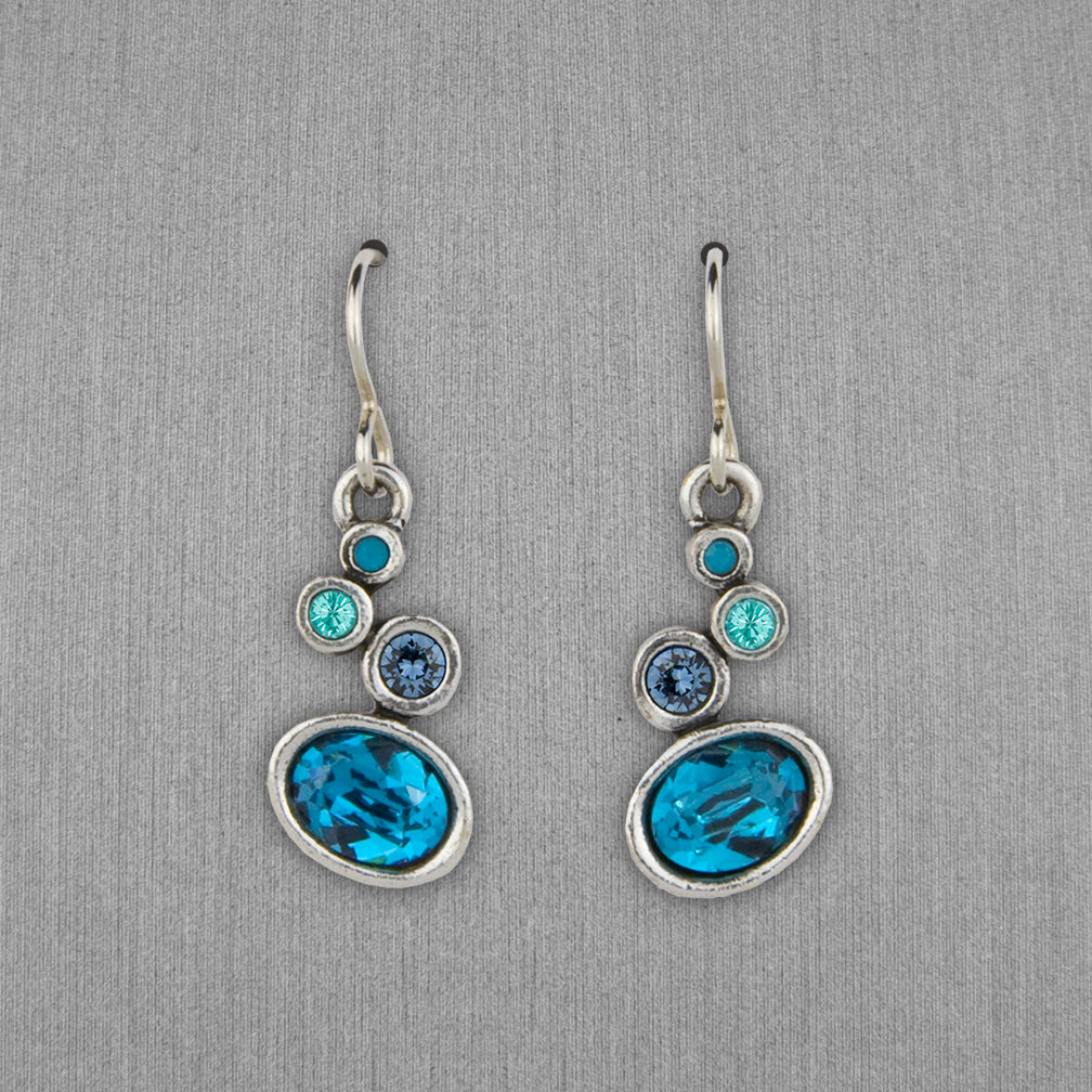 Patricia Locke Jewelry: Arya Earrings in Bermuda