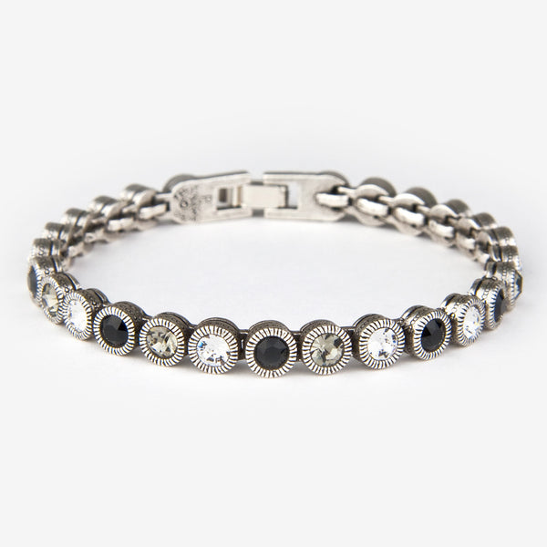 Patricia Locke Jewelry: Game, Set, Match Bracelet in Black & White