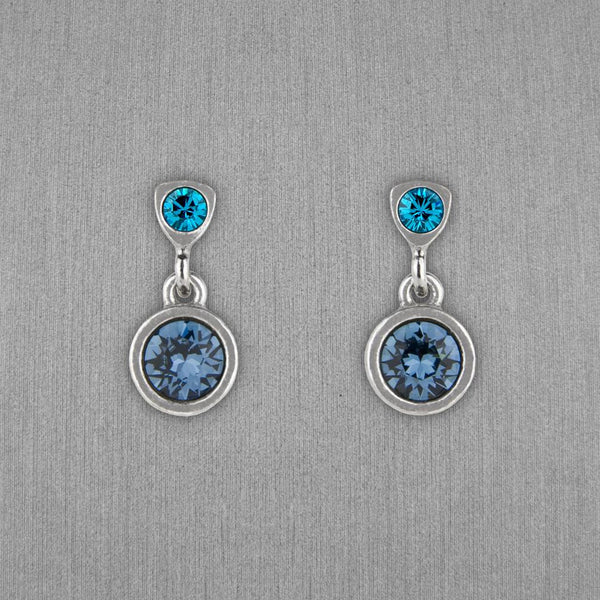 Patricia Locke Jewelry: Bouton Earrings in Bermuda
