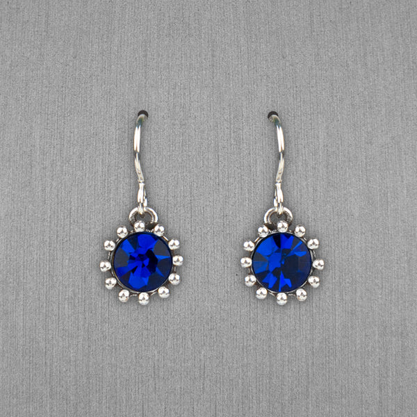 Patricia Locke Jewelry: Cupcake Earrings in Capri Blue