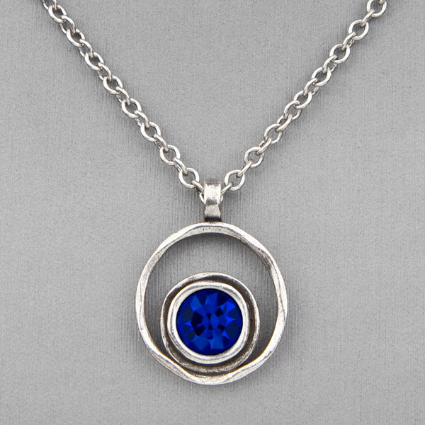 Patricia Locke Jewelry: Serenity Necklace in Capri Blue