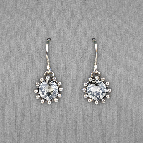 Patricia Locke Jewelry: Cupcake Earrings in Crystal Moonlight