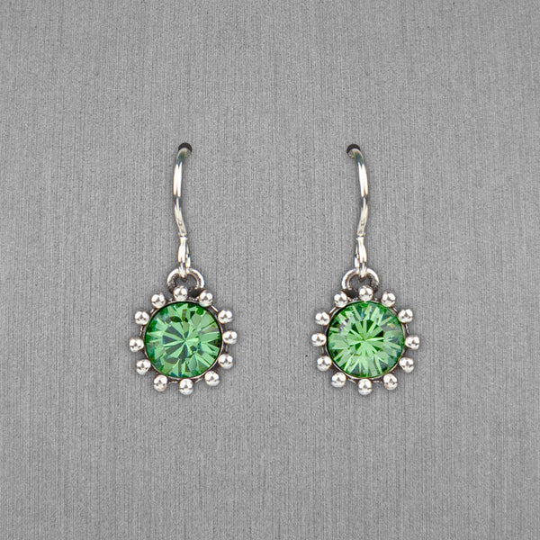 Patricia Locke Jewelry: Cupcake Earrings in Erinite