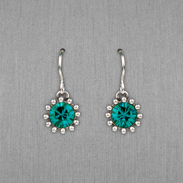 Patricia Locke Jewelry: Cupcake Earrings in Indicolite
