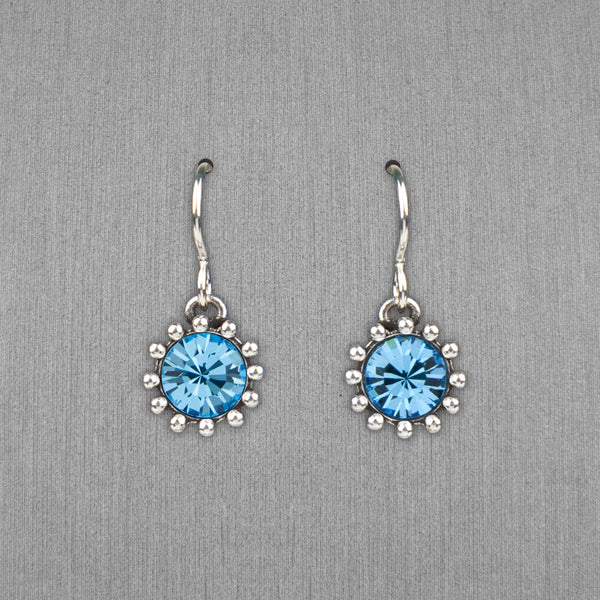 Patricia Locke Jewelry: Cupcake Earrings in Aquamarine
