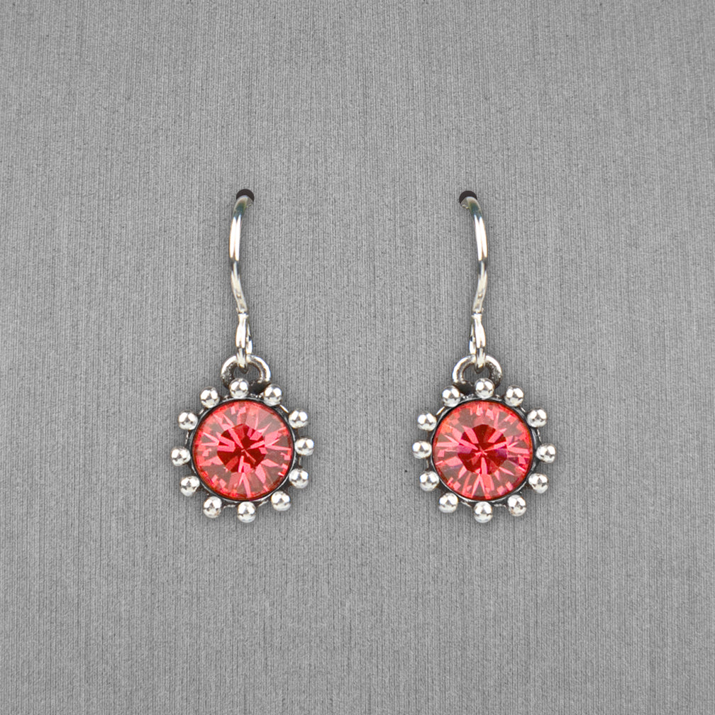 Patricia Locke Jewelry: Cupcake Earrings in Padparadscha