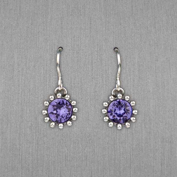 Patricia Locke Jewelry: Cupcake Earrings in Tanzanite