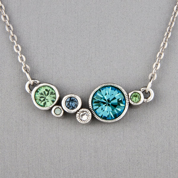 Patricia Locke Jewelry: Curtain Call Necklace in Zephyr
