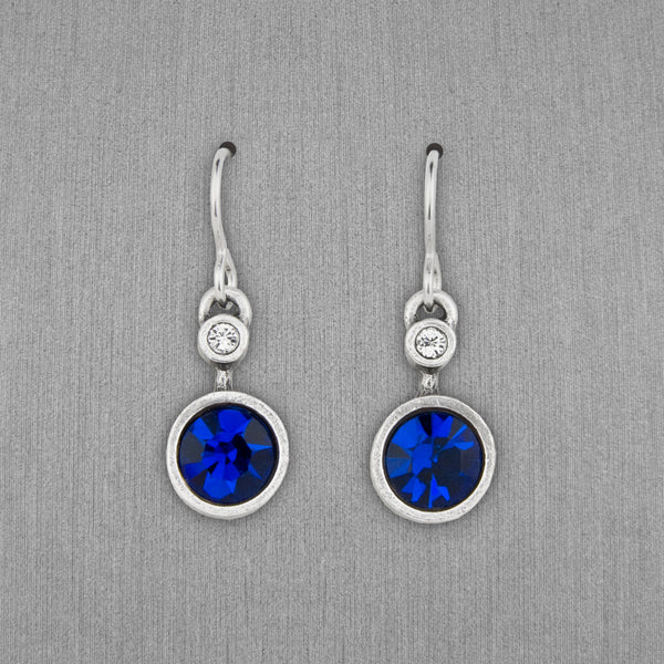 Patricia Locke Jewelry: Drip Drop Earrings in Capri Blue
