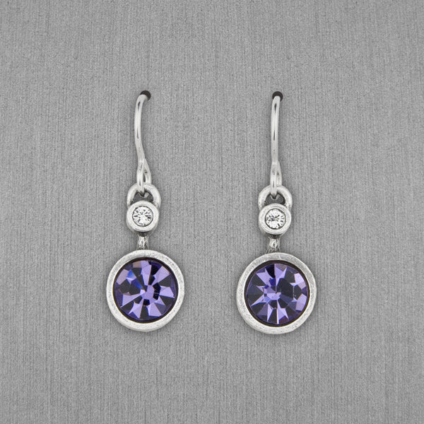 Patricia Locke Jewelry: Drip Drop Earrings in Tanzanite