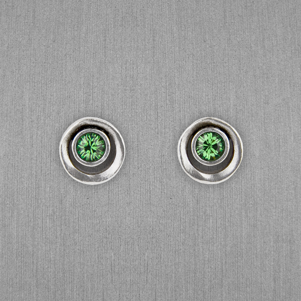 Patricia Locke Jewelry: Eye Spy Post Earrings in Erinite