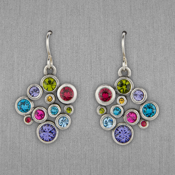 Patricia Locke Jewelry: Grace Earrings in Fling