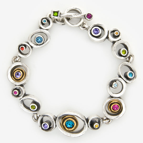 Patricia Locke Jewelry: Leap Frog Bracelet in Fling