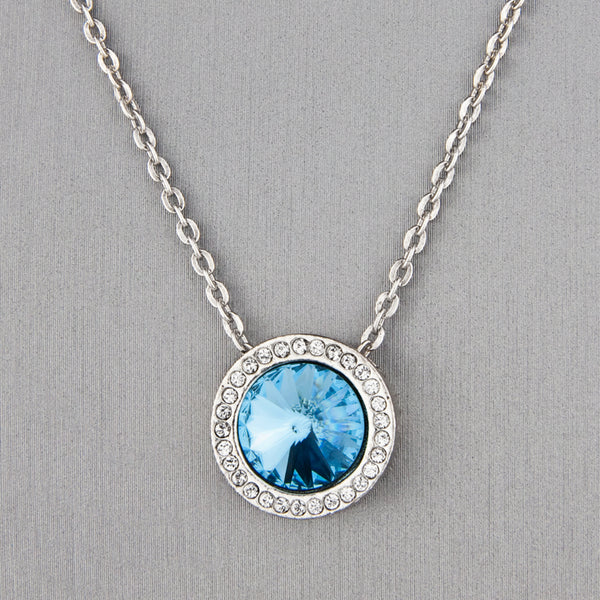 Patricia Locke Jewelry: For Better or Worse Necklace in Aquamarine